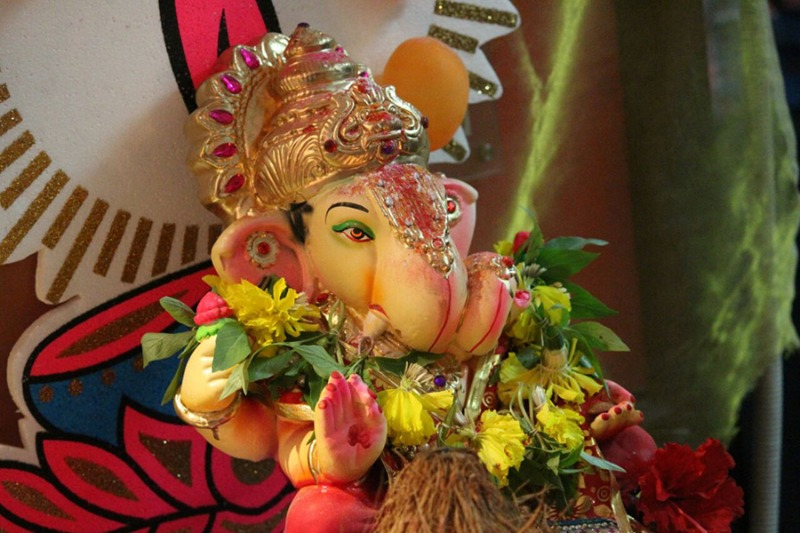 Ganpati Celebration Images