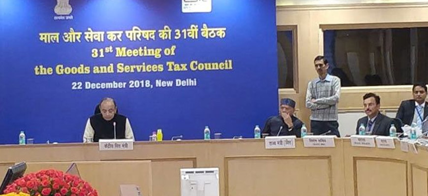 31st GST Council Meeting – Key Updates & Rate Revision