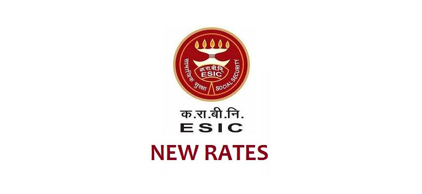 ESIC CONTRUBUTION RATES